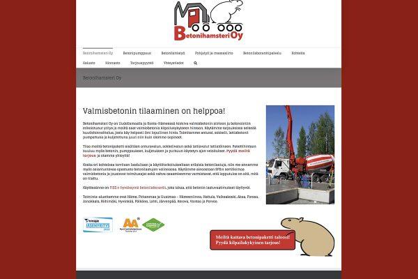 Betonihamsteri_kotisivut
