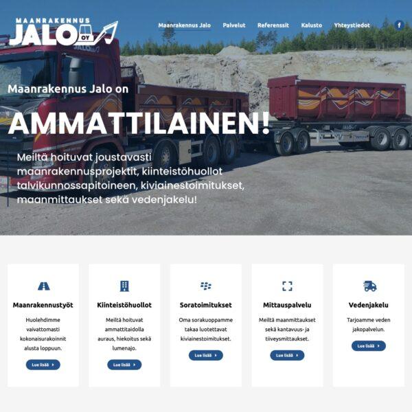 Maanrakennus_Jalo